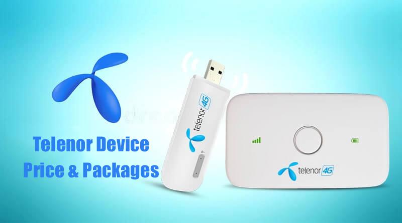 Telenor Internet Device