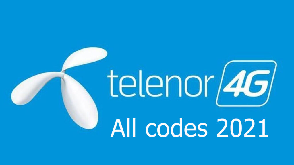 Telenor all codes 2021